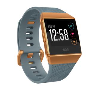 Fitbit Ionic™ Watch-- Slate Blue/Burnt Orange